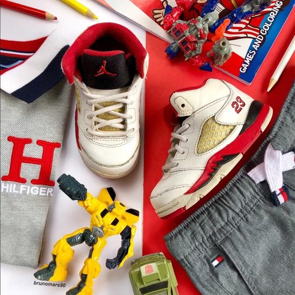 watch 637ca e1c5d Toddler Air Jordan 5 Retro Sneakers